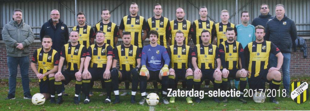 Zaterdag-selectie 2018 Veendam 1894 High5 Sports professionele fair trade voetballen