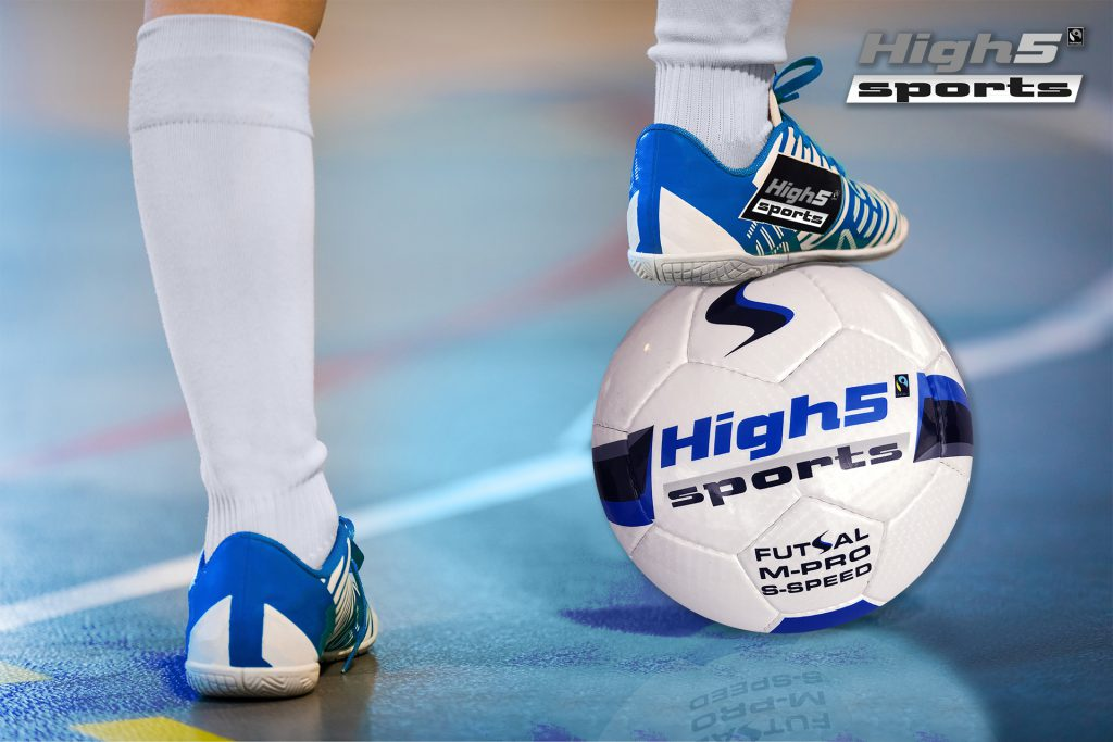 high5 sports futsal zaalvoetbal Fairtrade